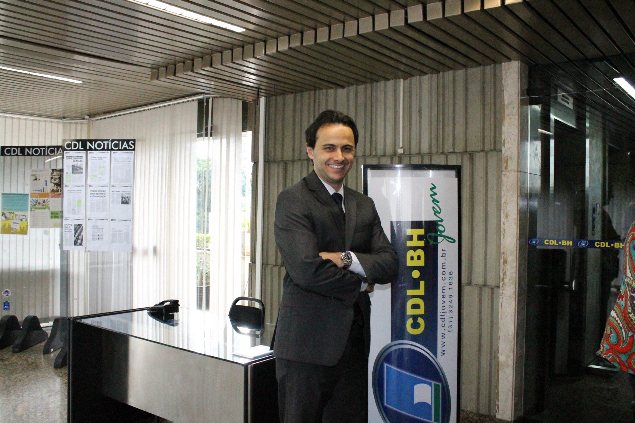 Lucas Pitta, novo coordenador nacional da CDL Jovem